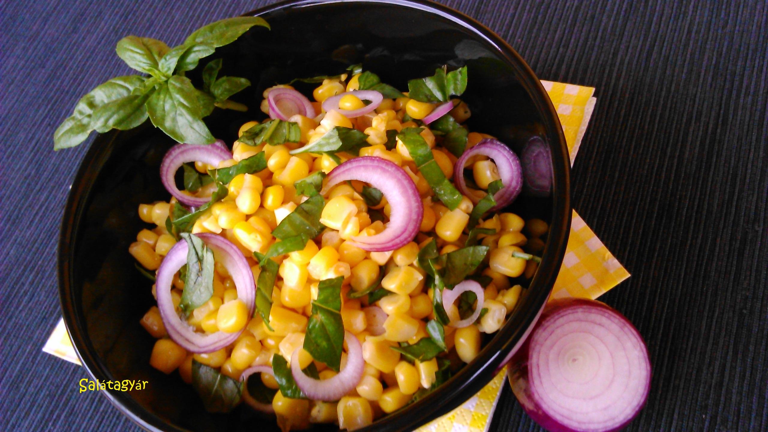 Kukoricasaláta majonéz nélkül