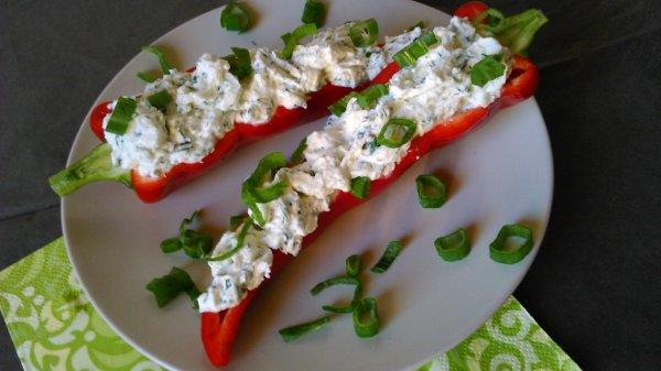 Túróval töltött paprika – könnyű diétás vacsora