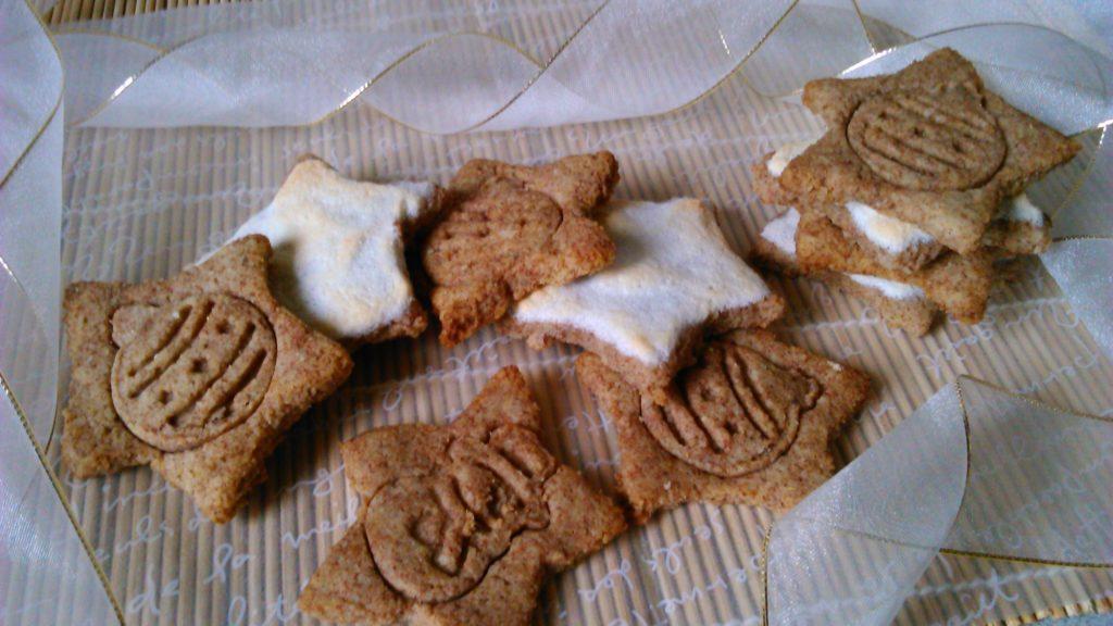 Karácsonyi keksz liszt nélkül, cukor nélkül