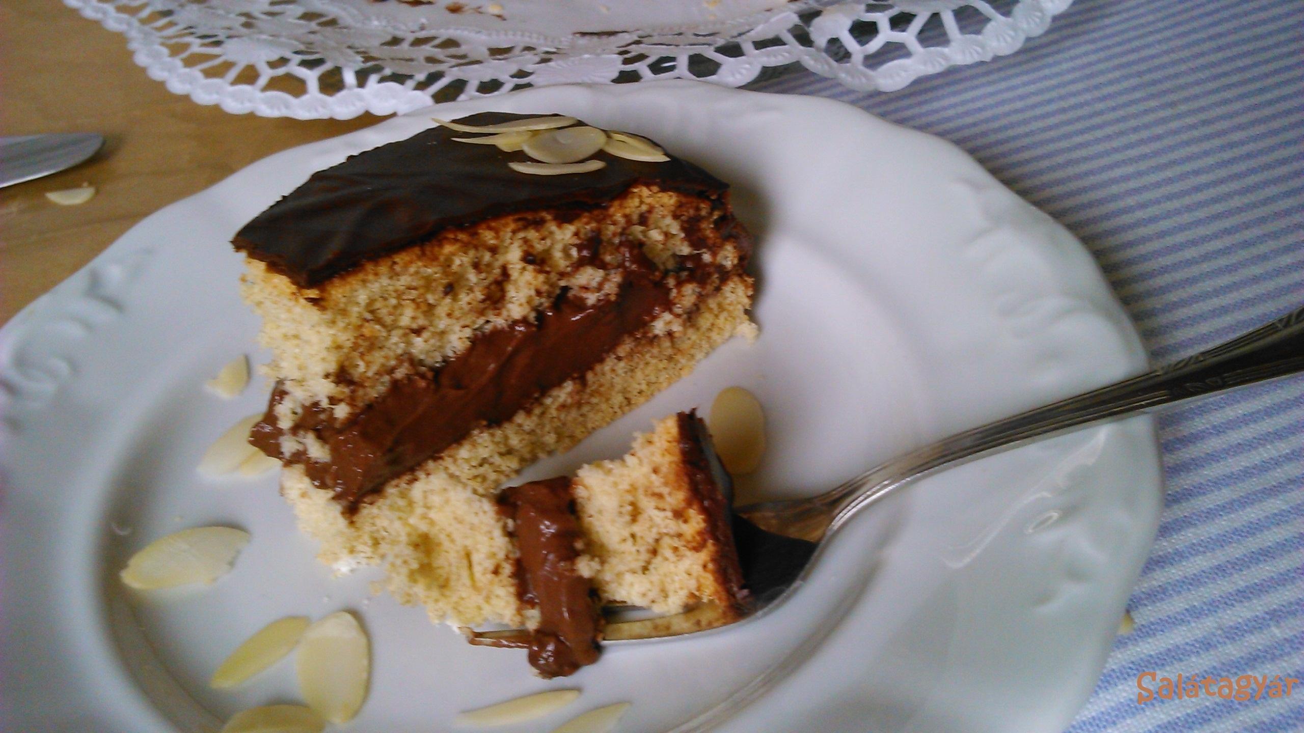 Diétás csokitorta, diétás csokikrém, diétás piskóta készítése