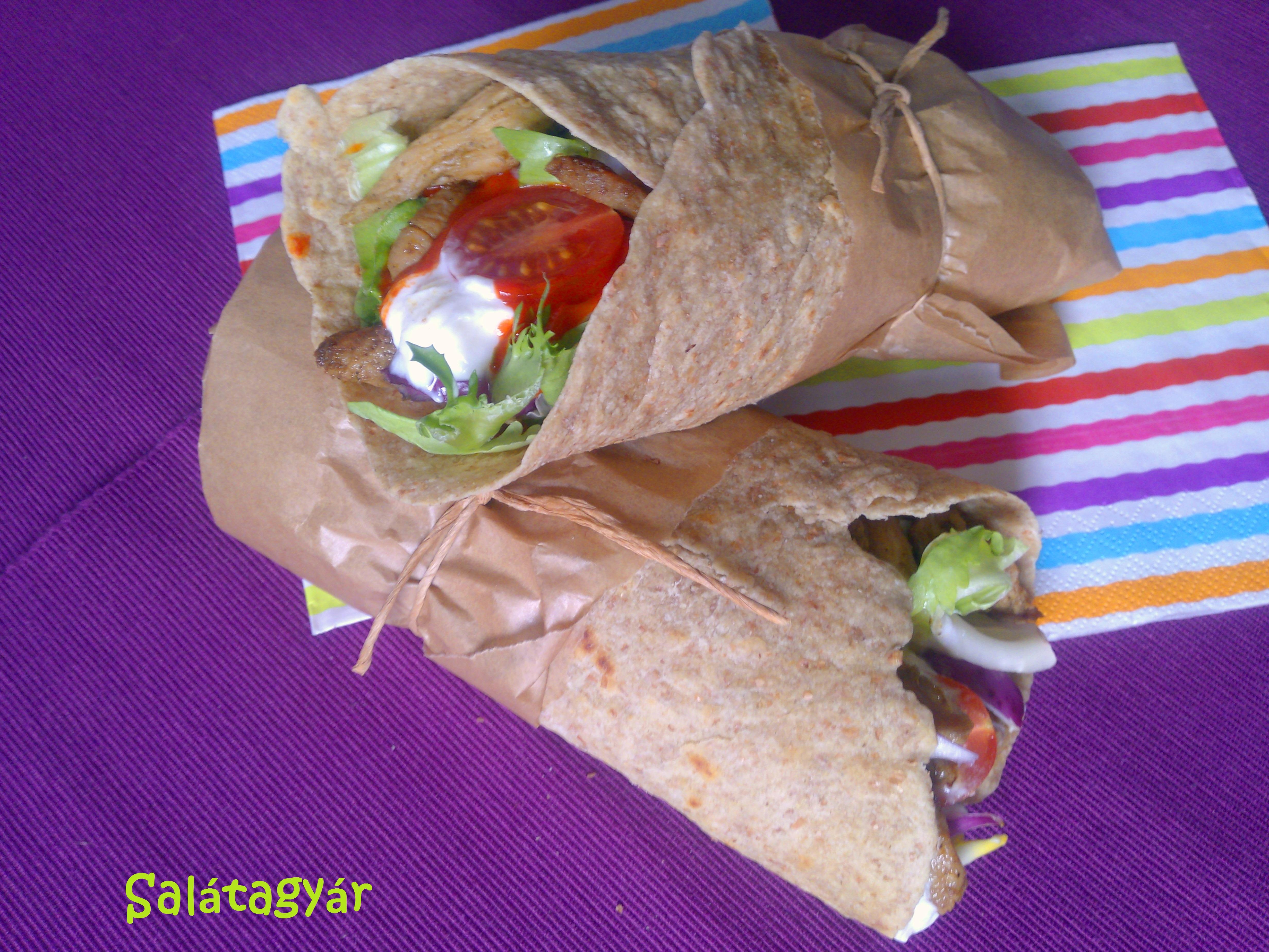 Hajlítható, nem törékeny diétás tortilla lap teljes kiőrlésű lisztből