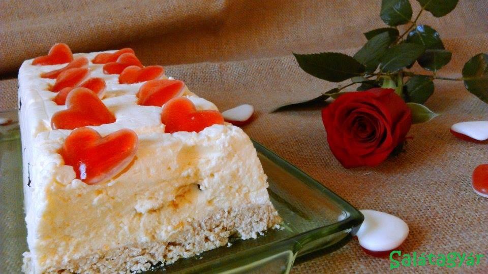 Diétás túrótorta sütés nélkül, kekszmentesen