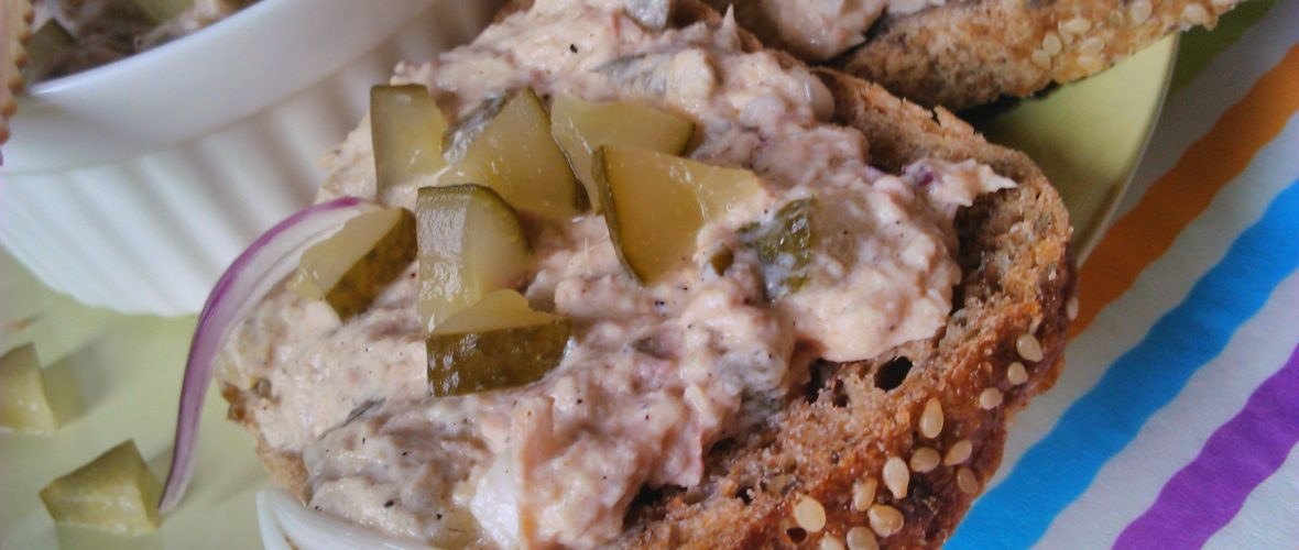 Diétás tonhalkrém (tonhalas szendvicskrém)