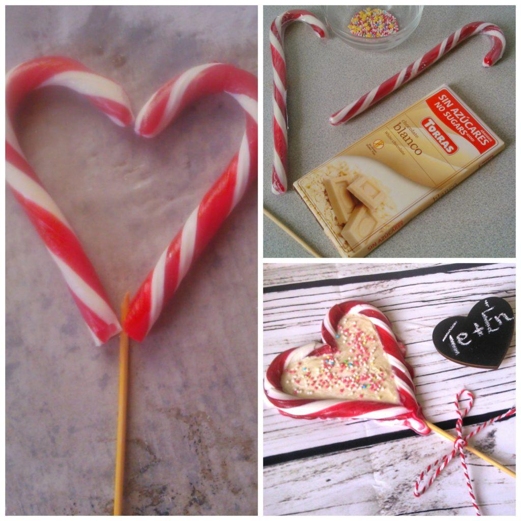 Cukormentes nyalóka szív Valentin-napra