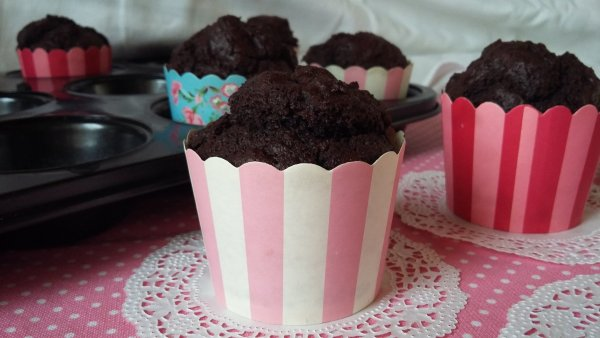 Csokis muffin zabpehelylisztből