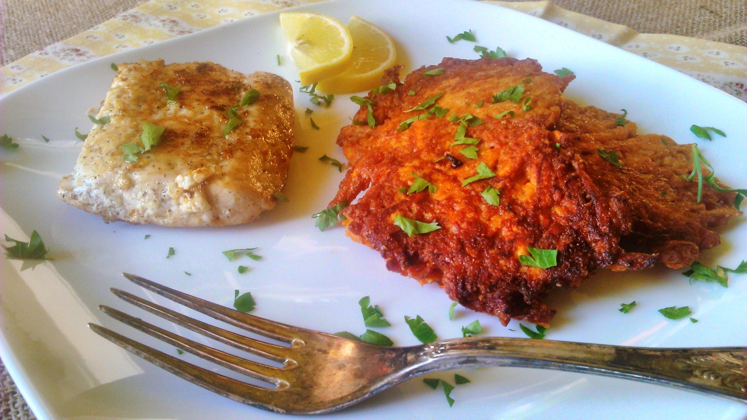 Édesburgonya tócsni – diétás ebéd krumpli imádóknak!