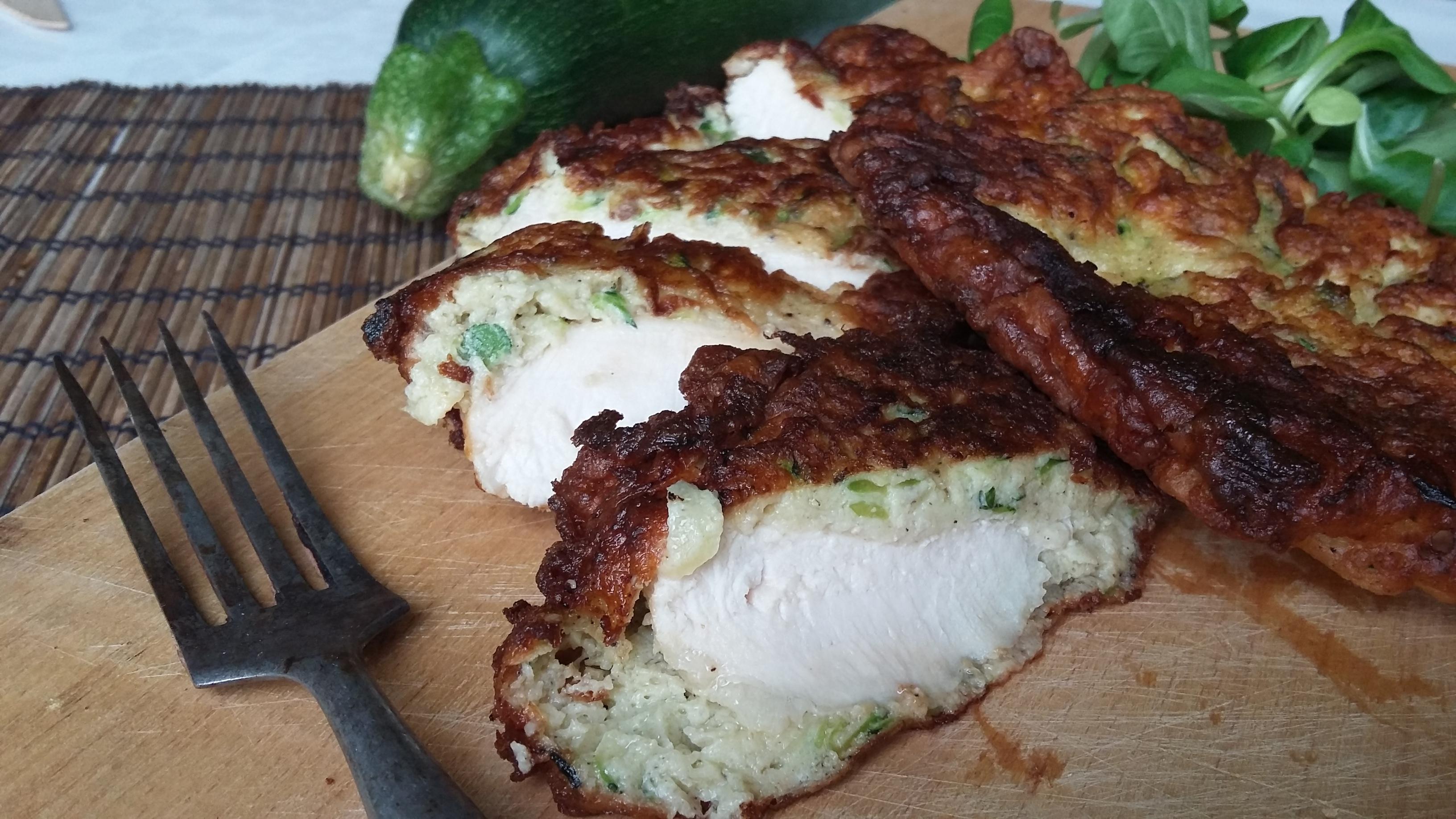 Mátrai borzas csirkemell diétásan, cukkiniből