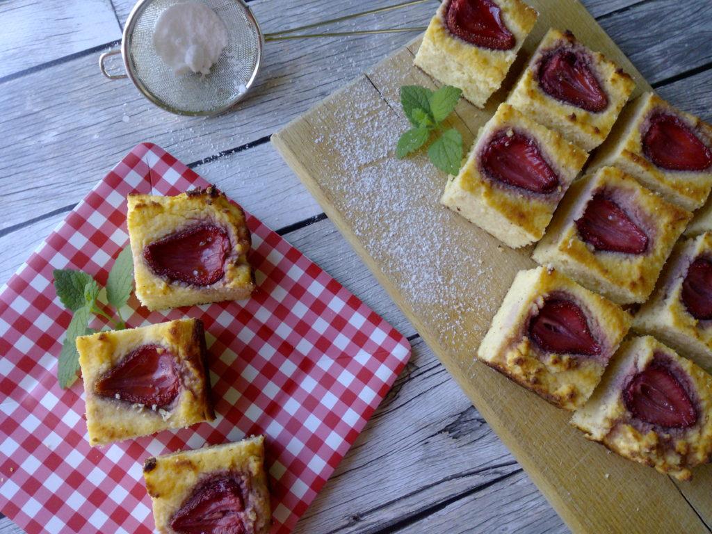 Diétás epres süti lisztmentesen