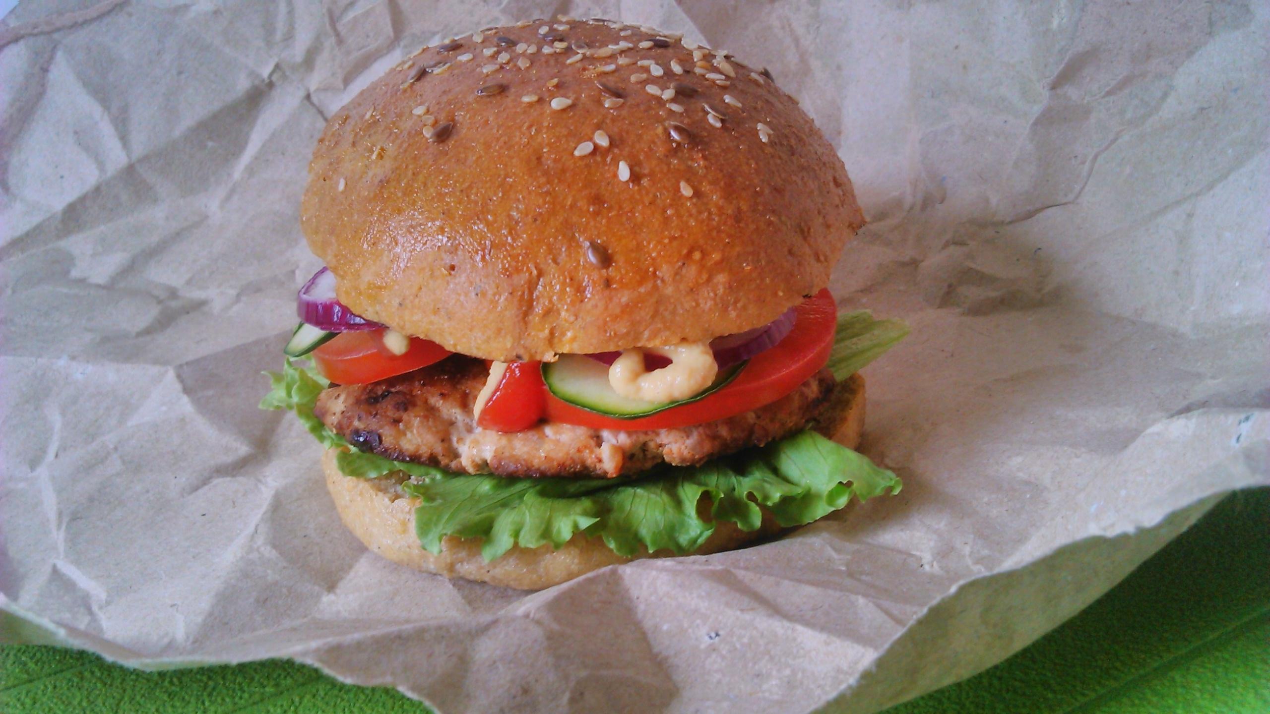 Diétás hamburger zsemle