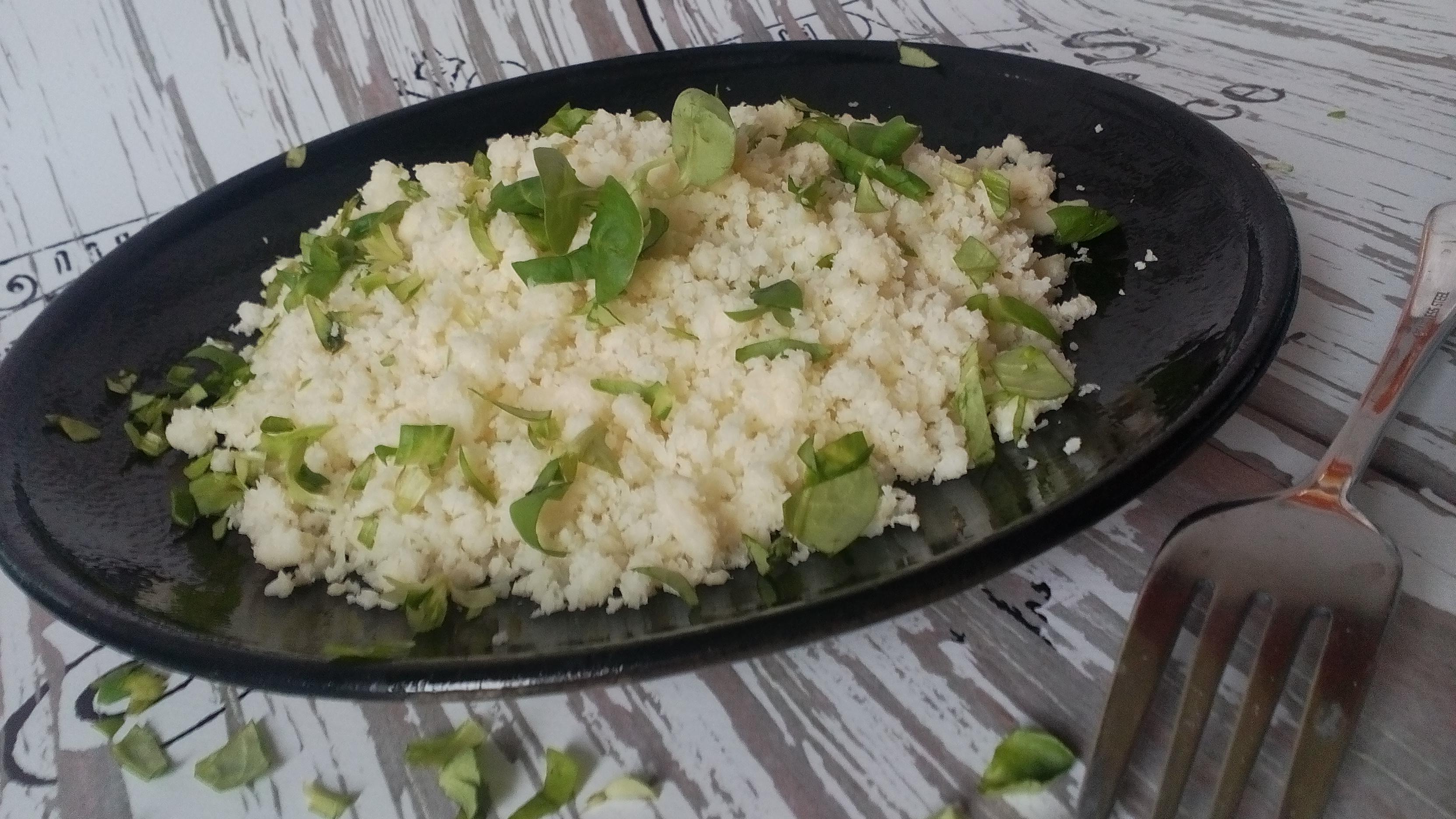 Karfiolrizs készítése – diétás köret ötlet