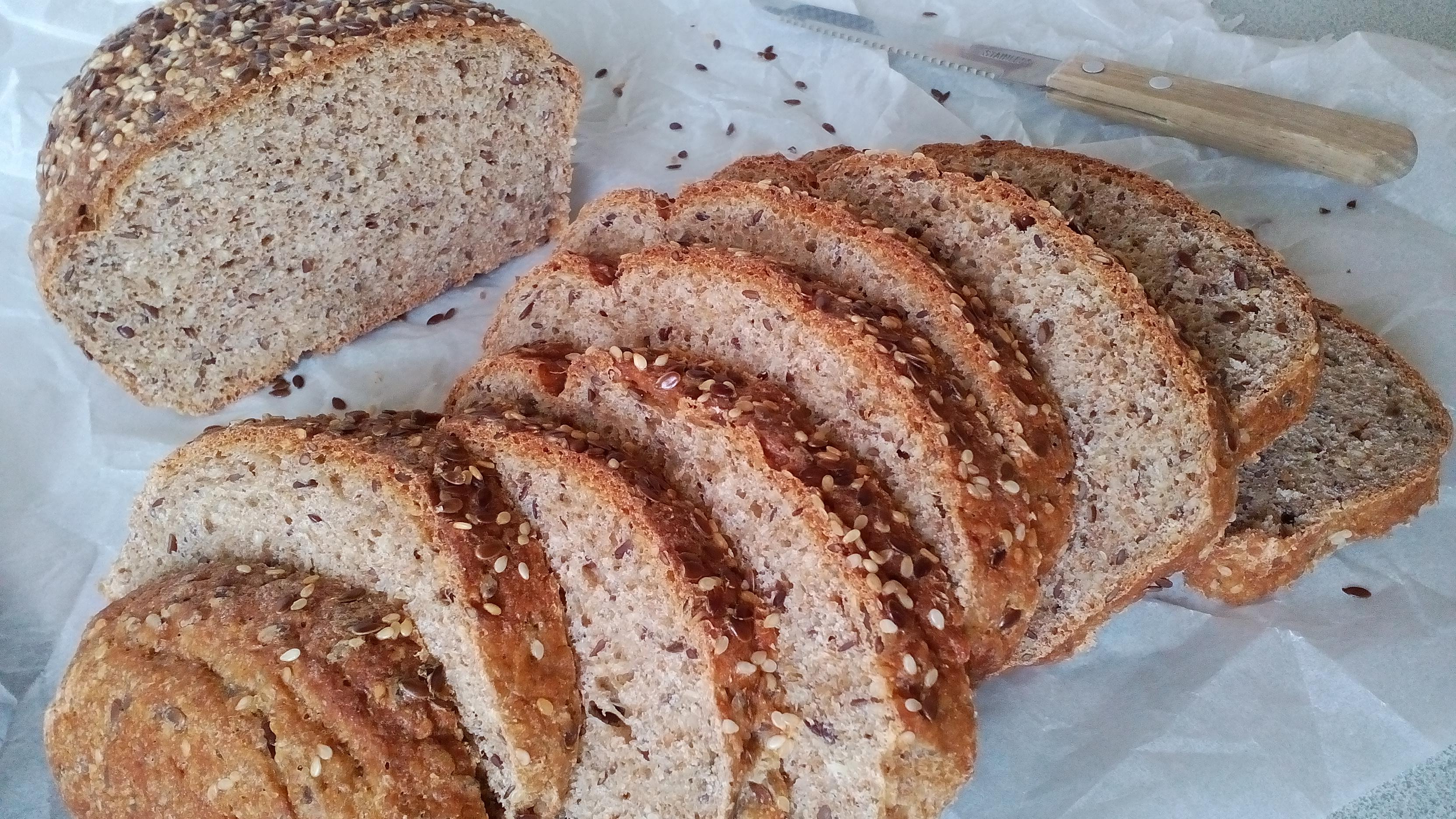 Korpás kenyér diétás szendvicsekhez