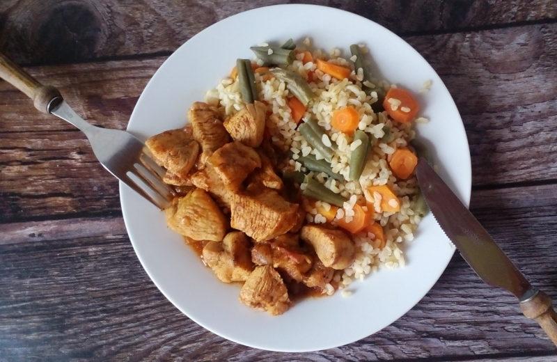 diétás Csirkepörkölt csirkemellből diétás recept