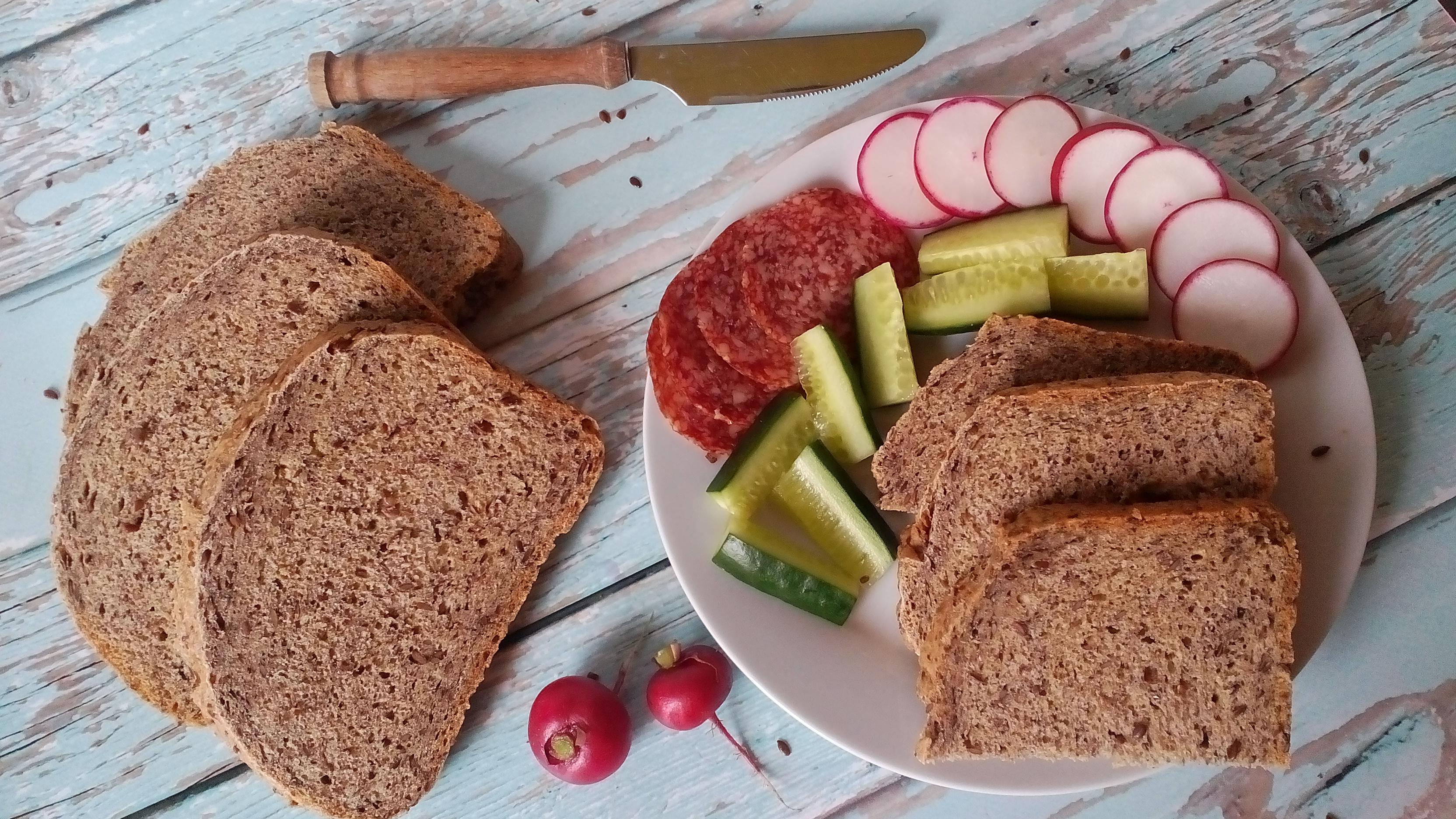 Méregtelenítő lenmagos kenyér