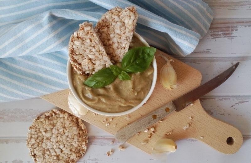 Diétás padlizsánkrém, a diétás padlizsános receptek közül a legegyszerűbb diétás étel