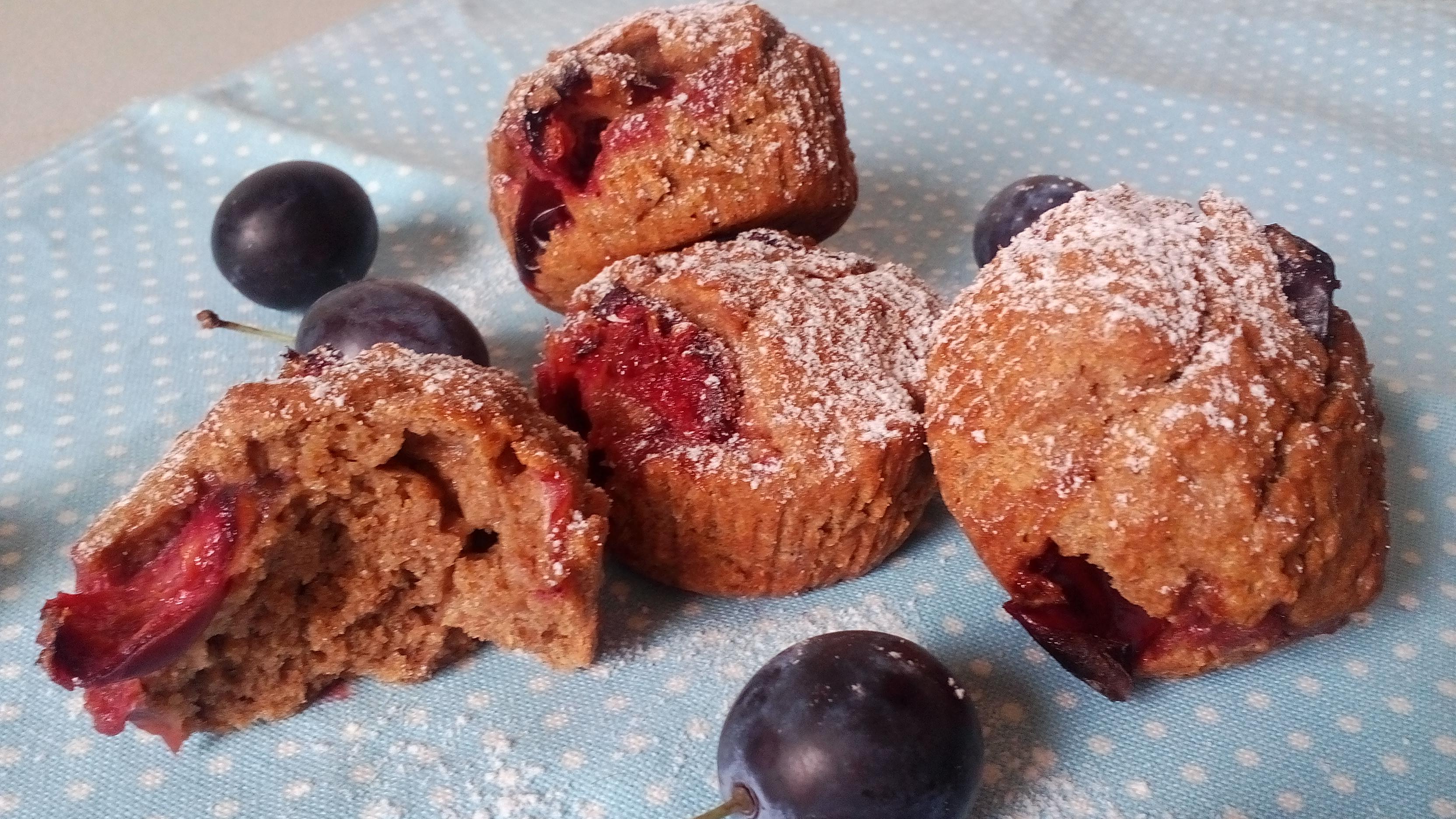 Teljes kiőrlésű muffin – tejmentes diétás muffin recept