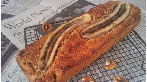 Diétás banánkenyér – maradékhasznosító diétás banános süti