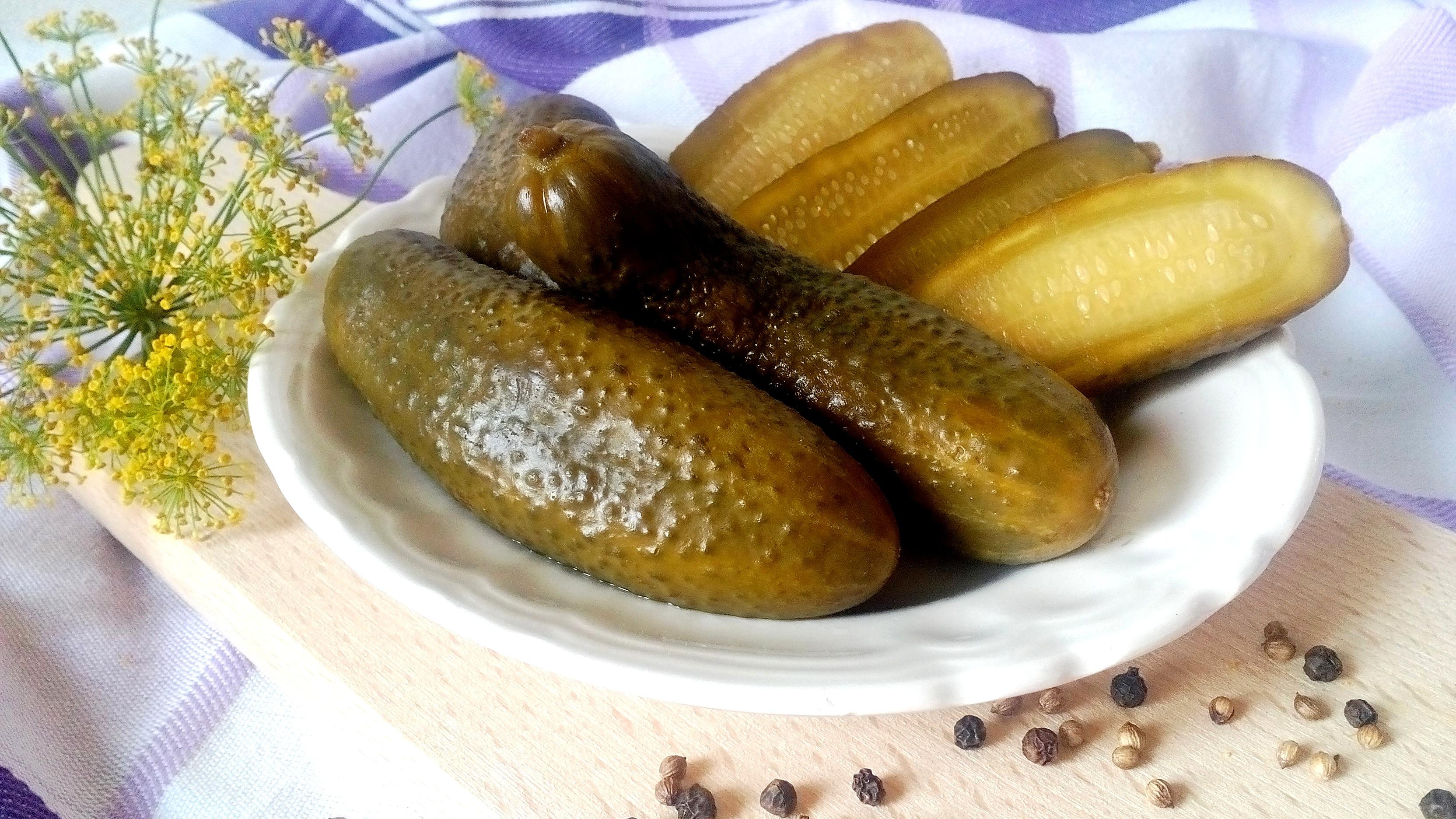 Ropogós csemege uborka recept cukor és tartósítószer nélkül