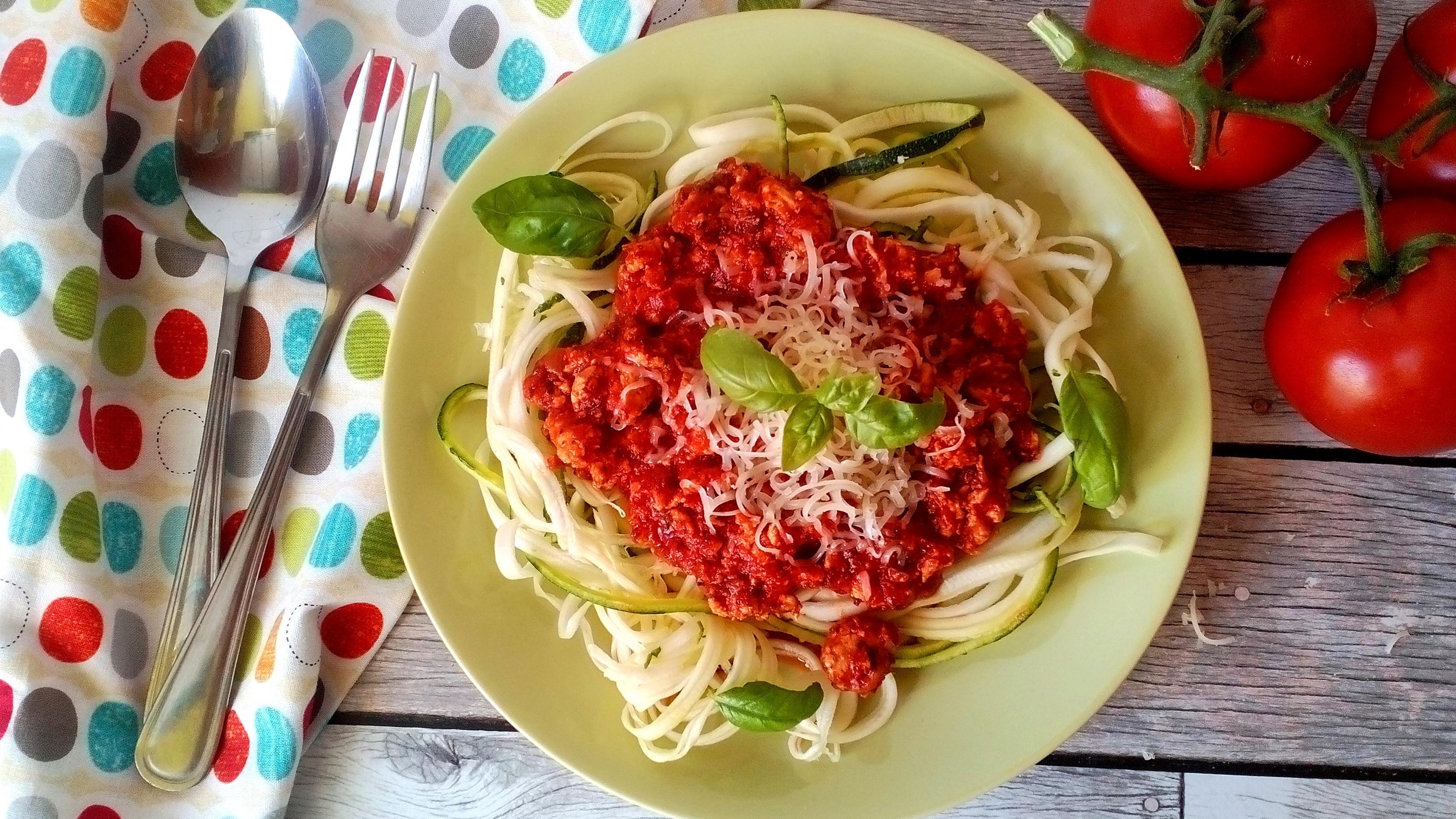 Hogyan készíts diétás bolognai spagettit?