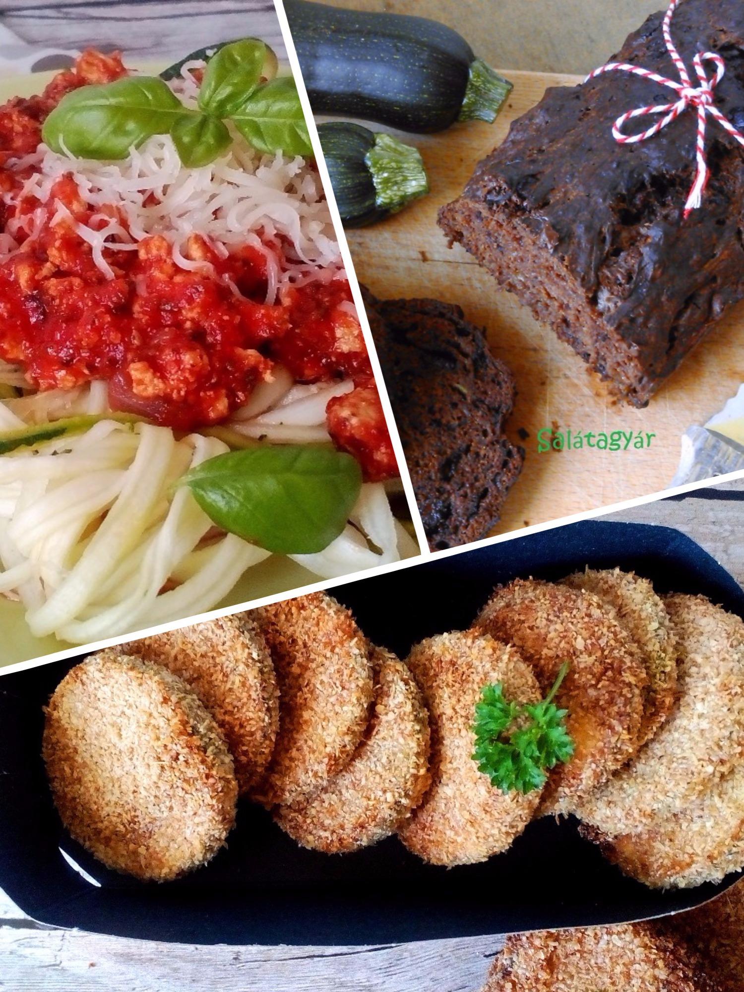 Kihagyhatatlan diétás cukkini receptek képekkel