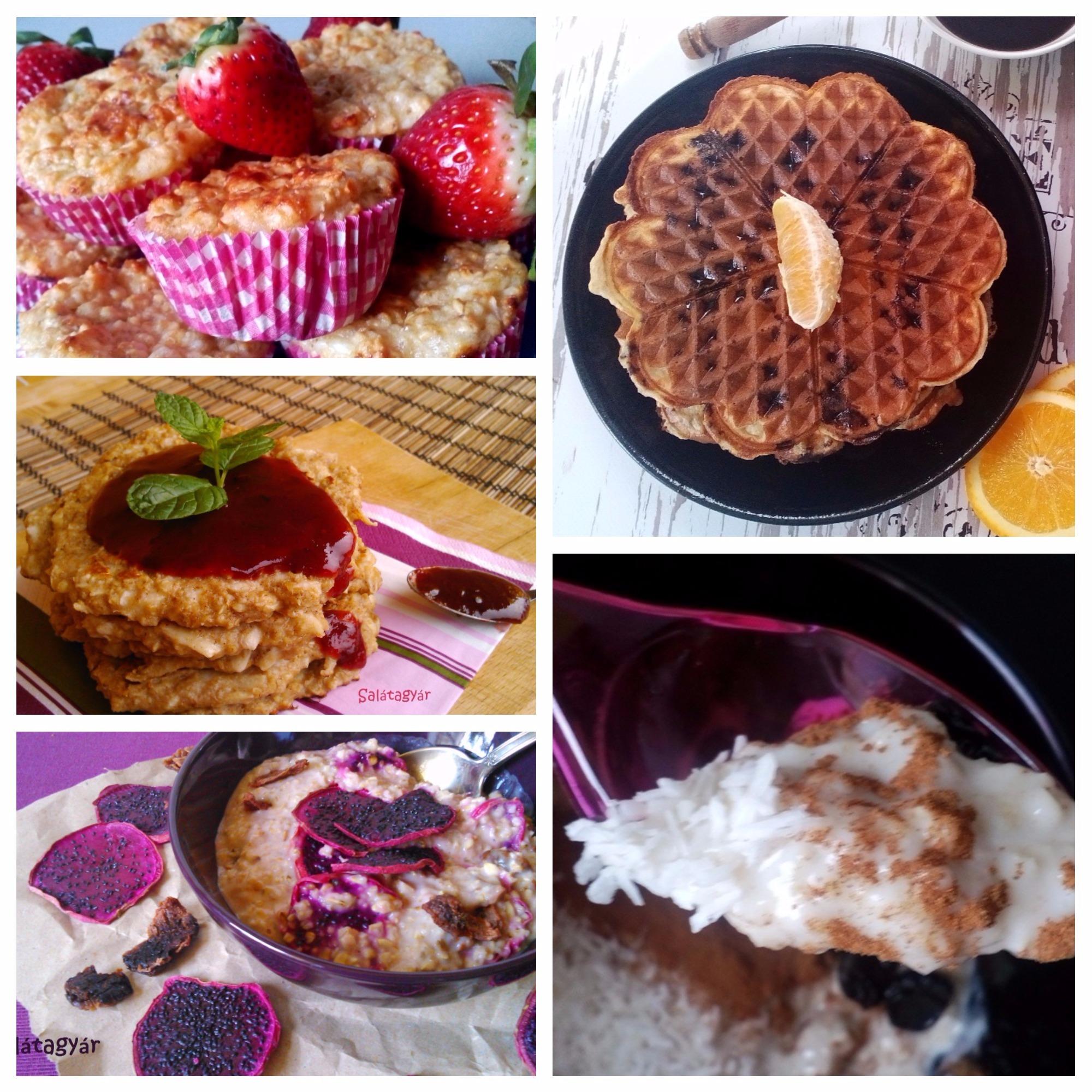 Zabpehely reggelire – TOP5 zabpelyhes reggeli recept