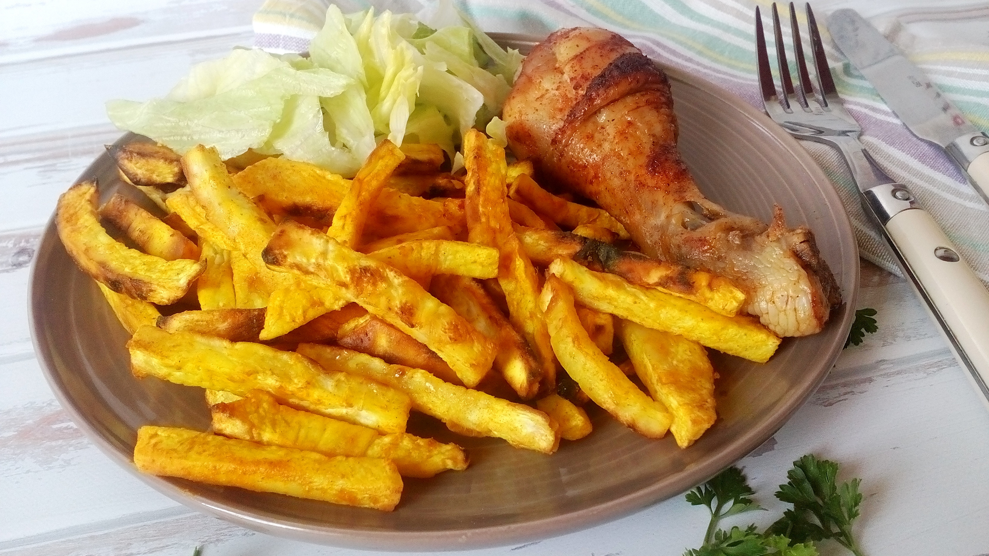 Sült zeller sütőben sütve – isteni sült krumpli ízű diétás köret