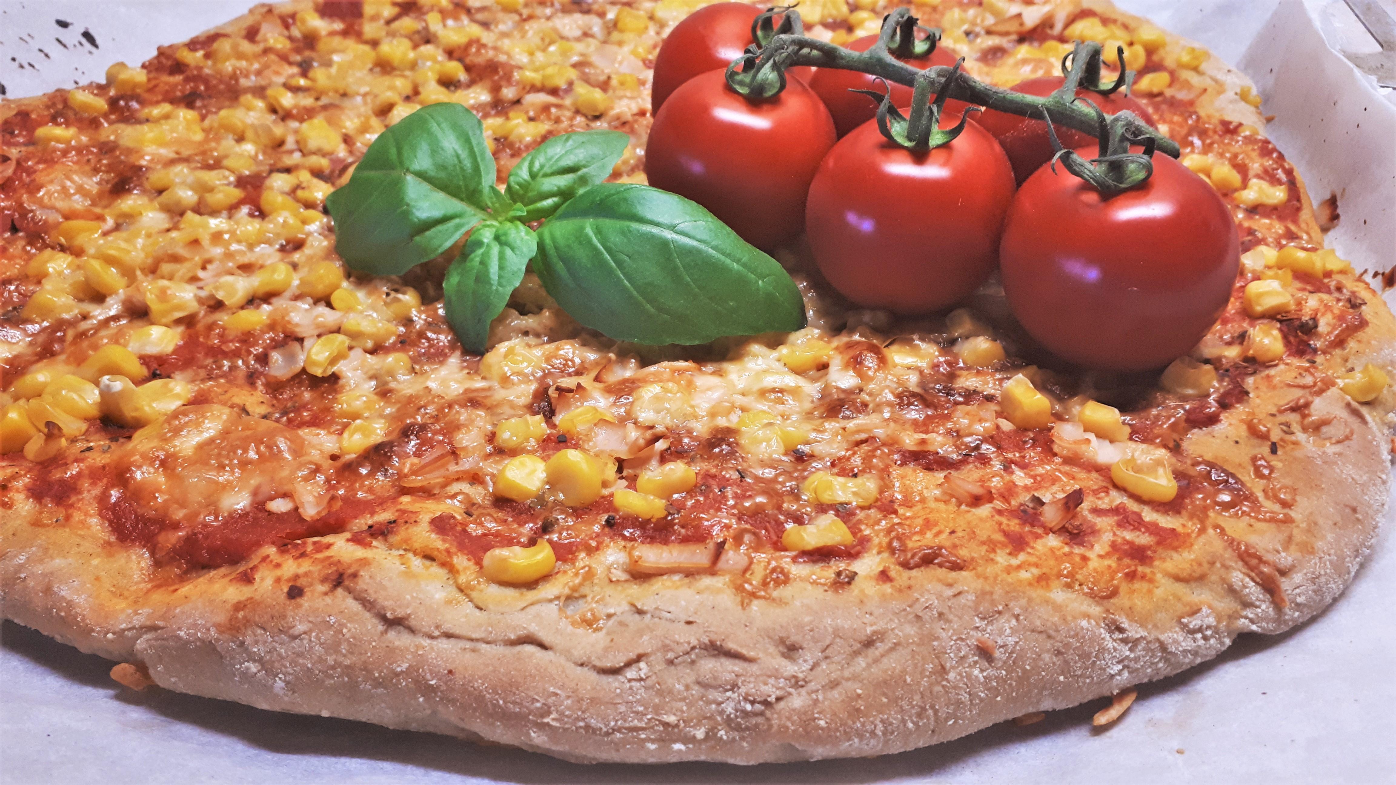 Szénhidrátcsökkentett pizza 3 összetevőből