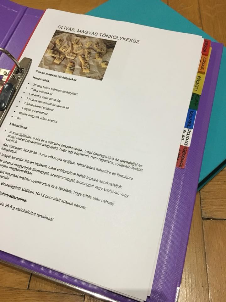 Diétás receptkönyv