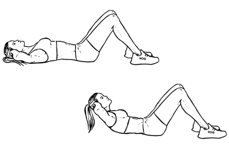 Image result for sit-ups exercises