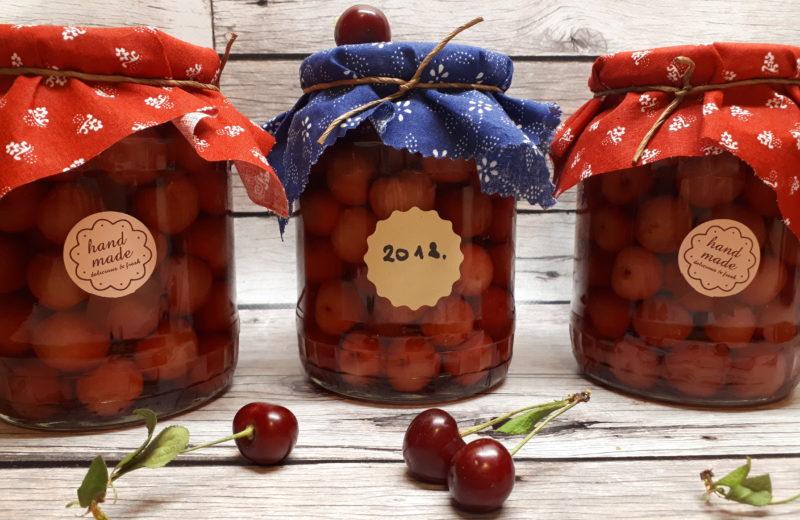 Cseresznye befőtt cukor nélkül
