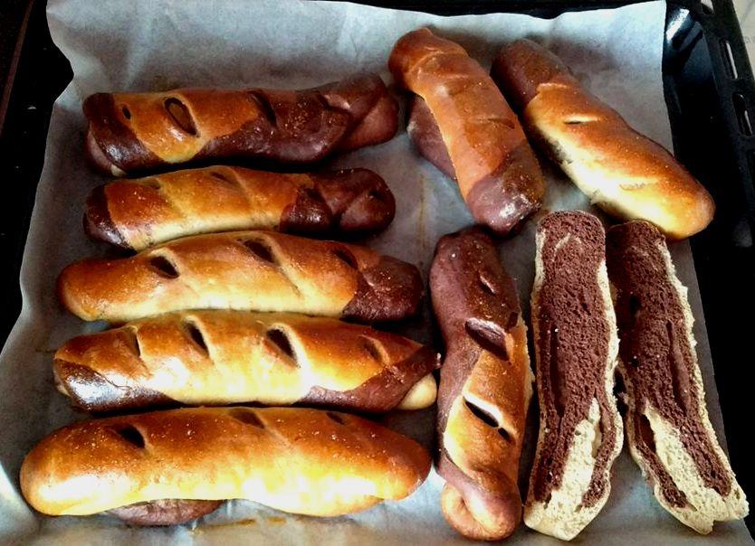 Szénhidrátcsökkentett diétás fatörzs kifli recept