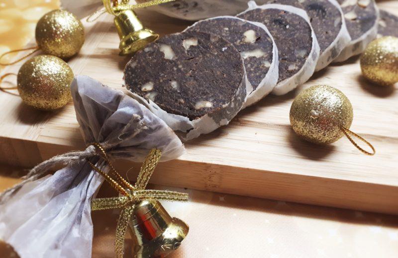 Diétás keksz szalámi (csokiszalámi) recept