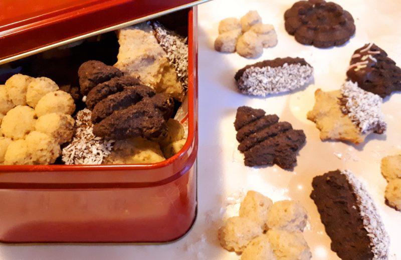 Kinyomós keksz diétásan, szénhidrátcsökkentett lisztből