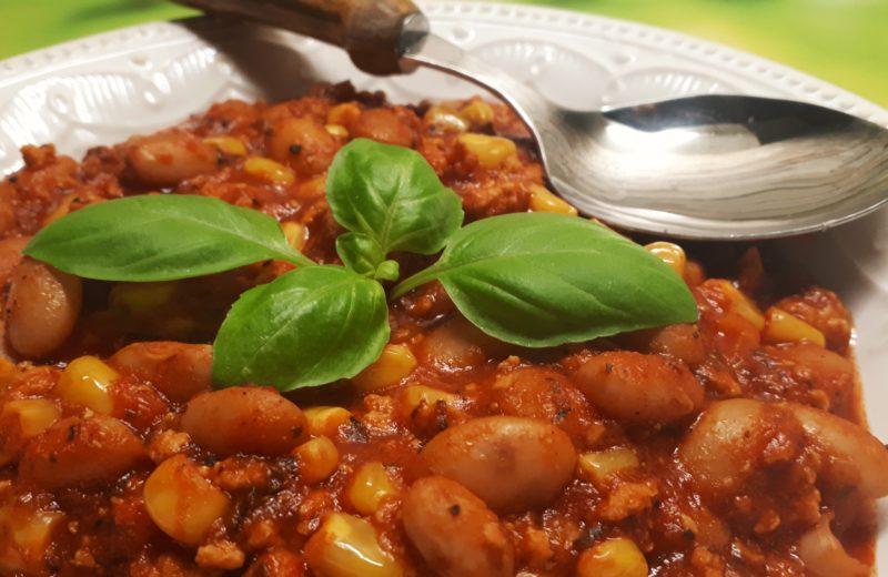 Diétás chilis bab recept