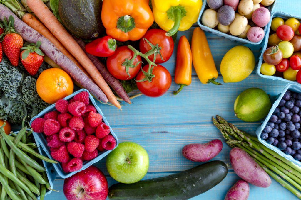 A zöldségek, gyümölcsök nagy része lassú felszívódású szénhidrát tartalmú