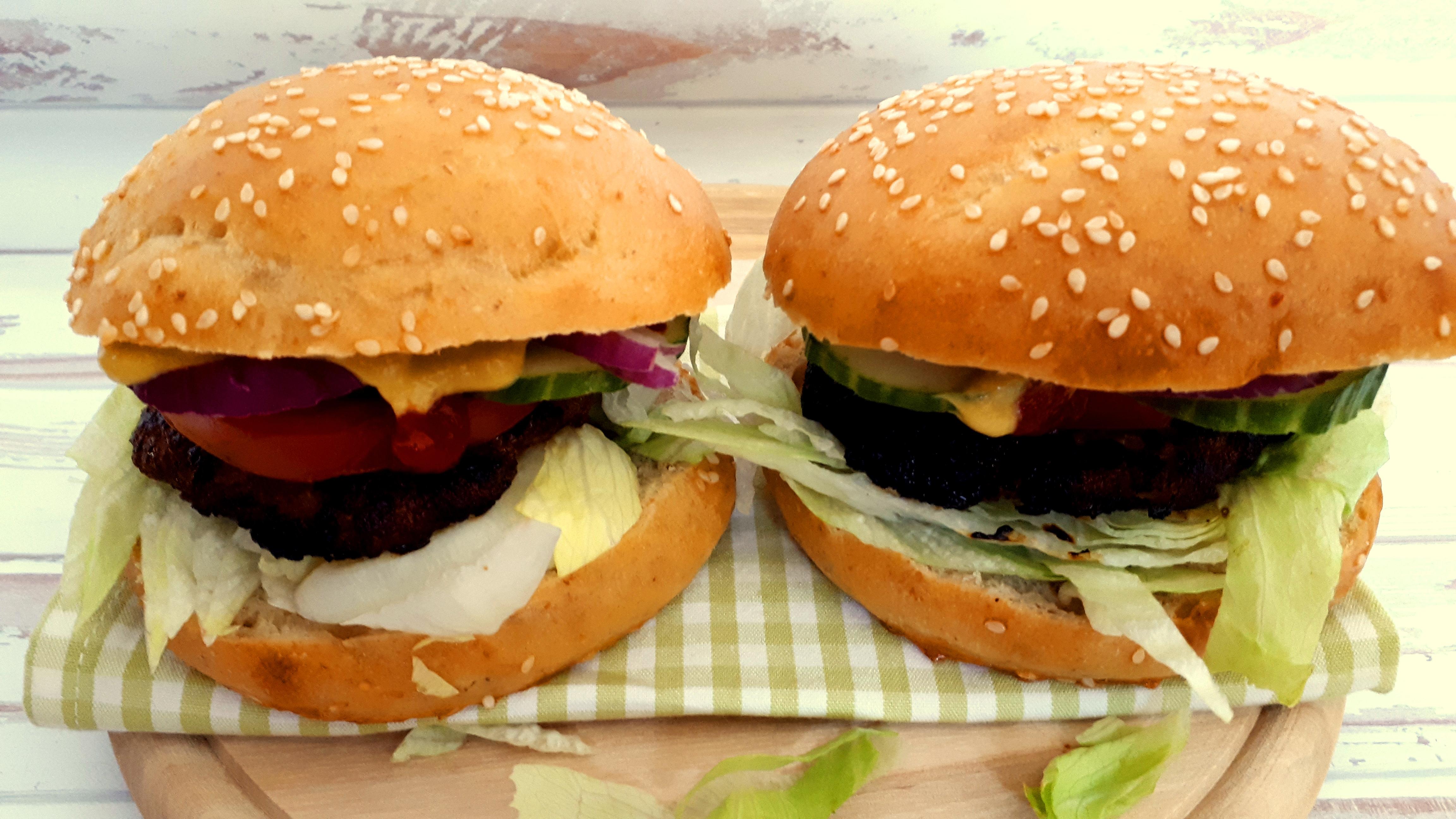 Szénhidrátcsökkentett hamburger zsemle