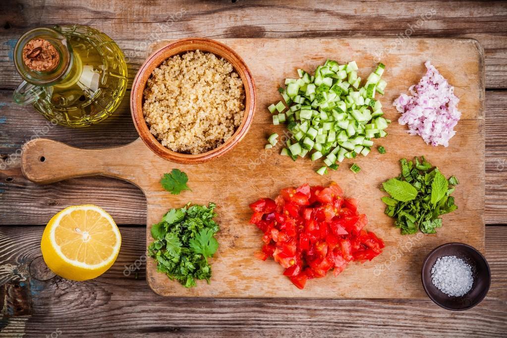 Kuszkusz saláta