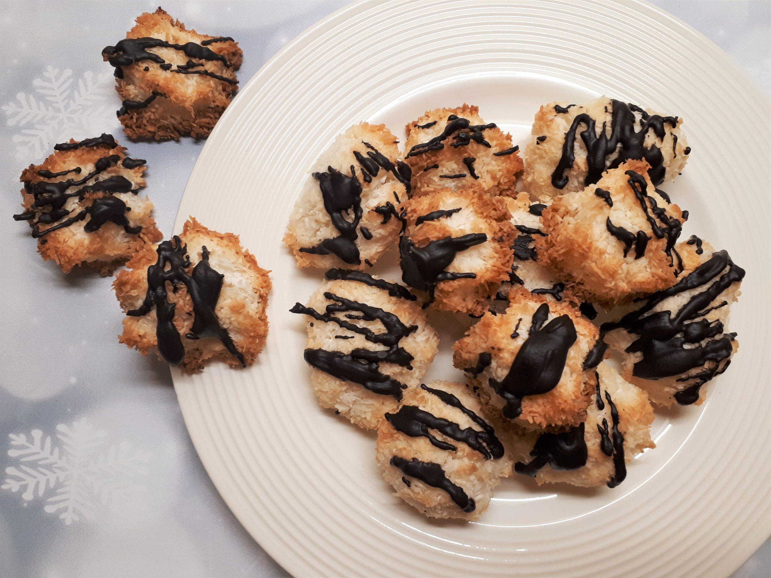 Ropogós diétás kókuszcsók cukormentesen
