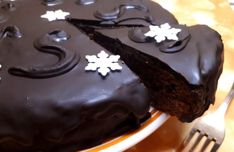 Cukormentes diétás Sacher torta
