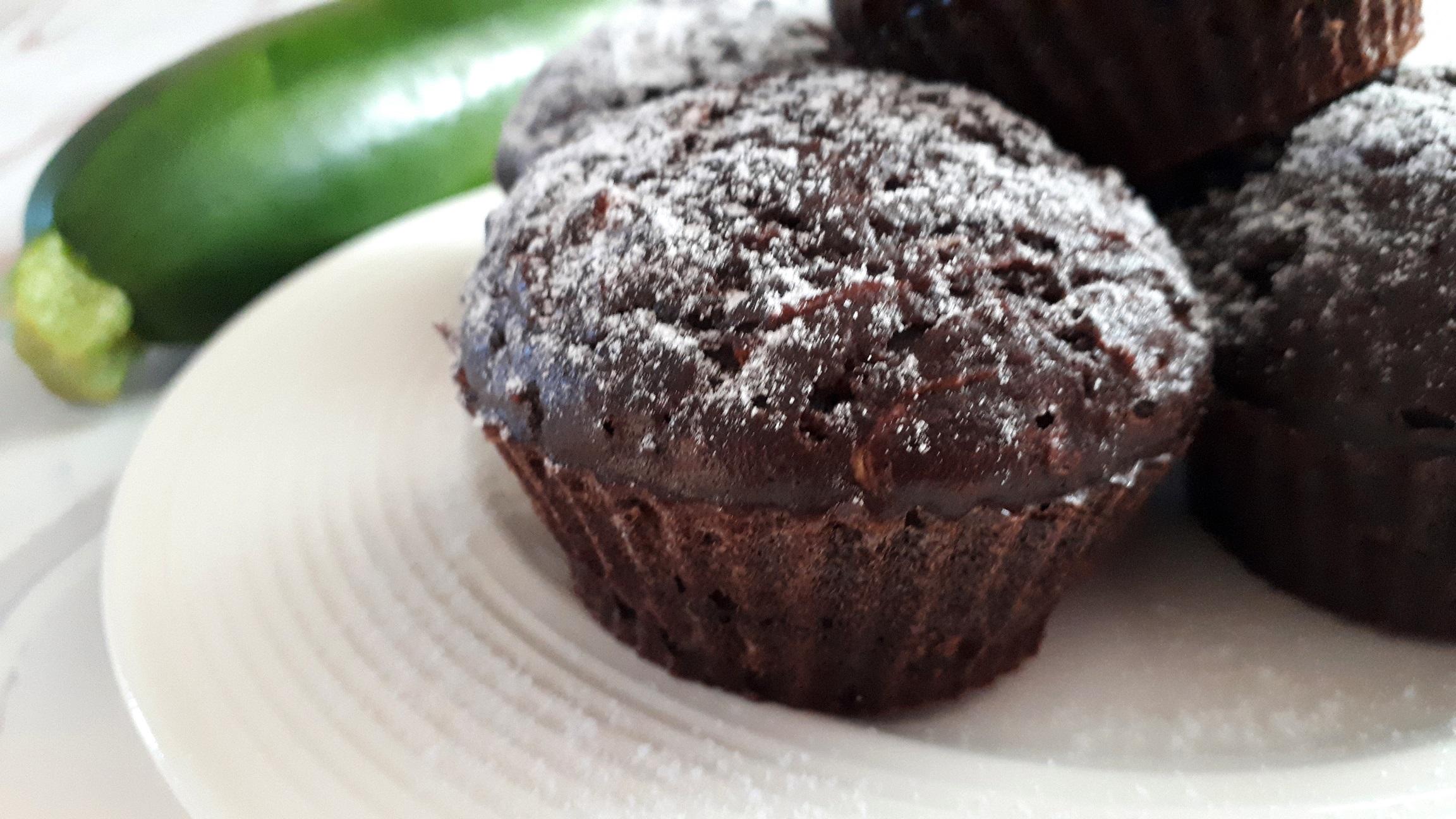 Diétás cukkinis muffin cukor nélkül