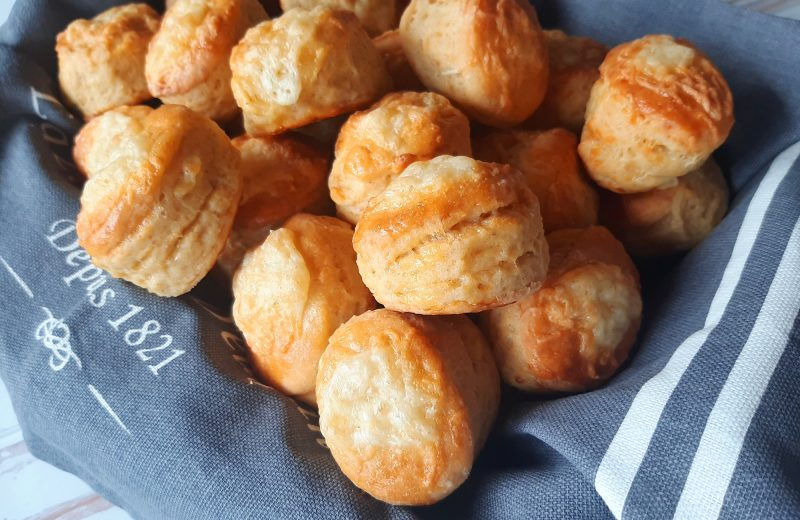 Diétás sajtos pogácsa Dia Wellness szénhidrátcsökkentett lisztből