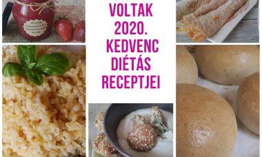 2020. kedvenc diétás receptjei képekkel