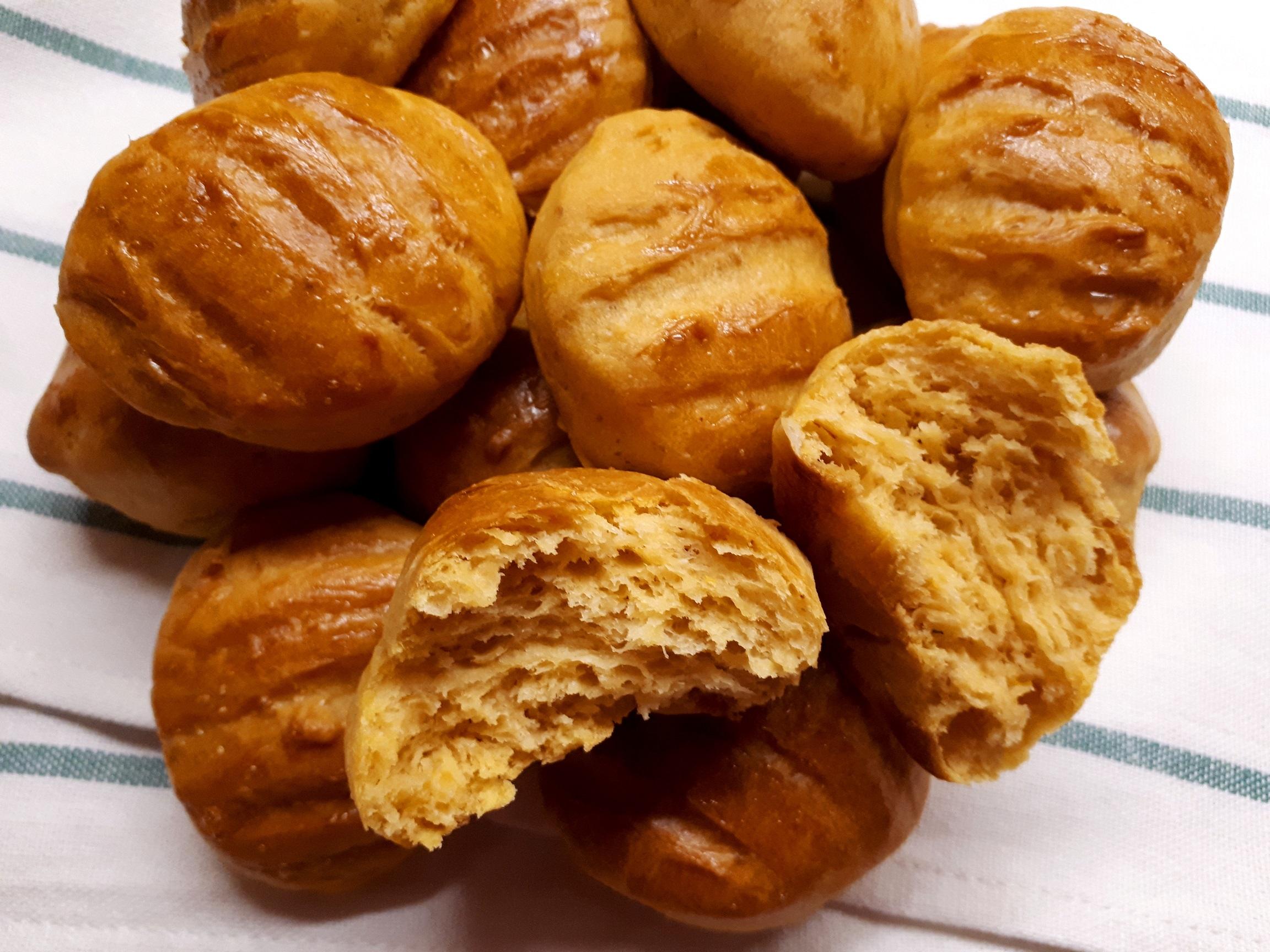 Szénhidrátcsökkentett édesburgonyás pogácsa (diétás krumplis pogácsa) Dia Wellness 50 szénhidrátcsökkentett lisztből