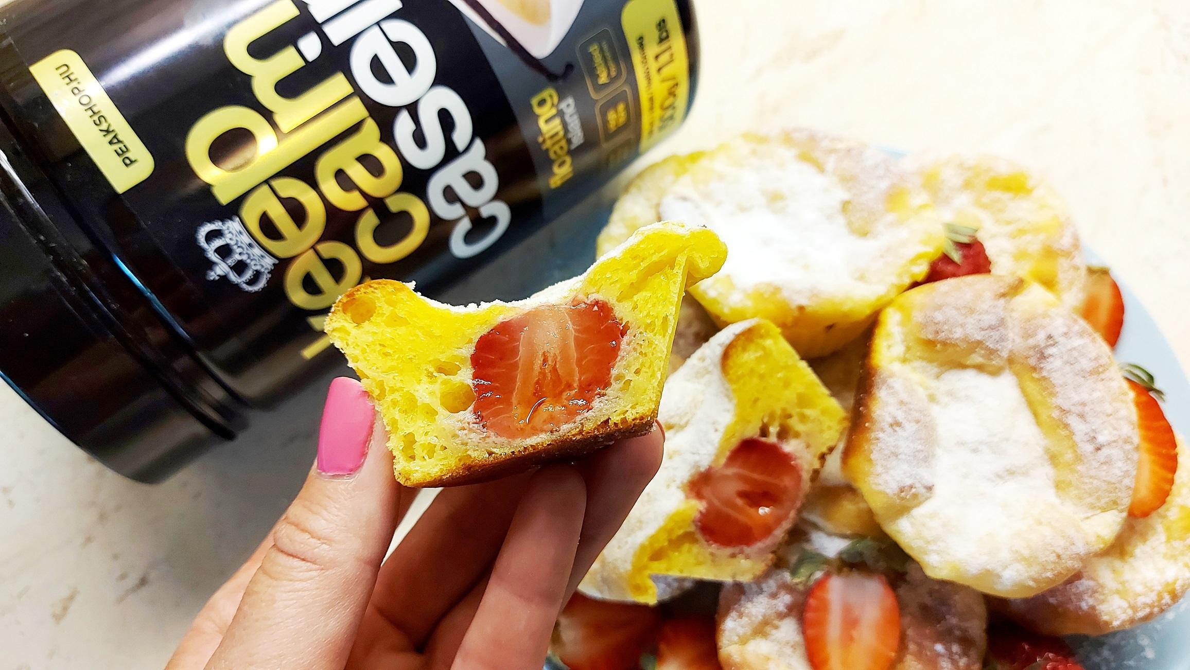 Doiétás, cukormentes, lisztmentes cukkinis protein muffin szénhidrátmentesen