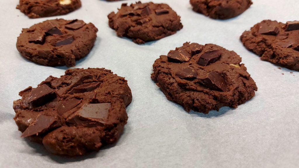 Vegán csokis protein keksz