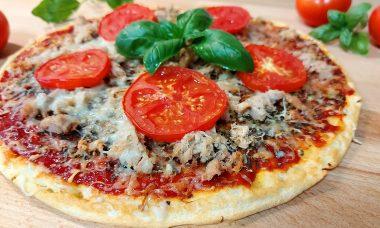 Protein pizza PEAK palacsintaporból