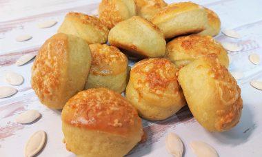 Diétás sütőtökös pogácsa recept Dia Wellness szénhidrátcsökkentett lisztből